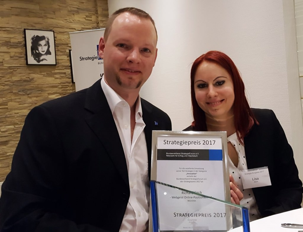 Webgeist – Gewinner Strategiepreis 2017 Innovation